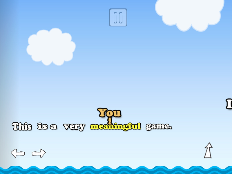 You, A Very Meaningful Game